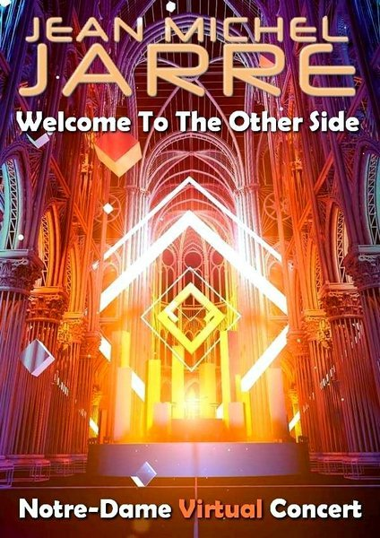 Постер к Jean-Michel Jarre: Welcome To The Other Side (2021) WEBRip 1080p
